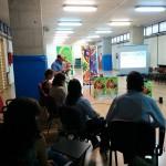JornadaPjvFD empezamos la jornada compartiendo la Eucarista