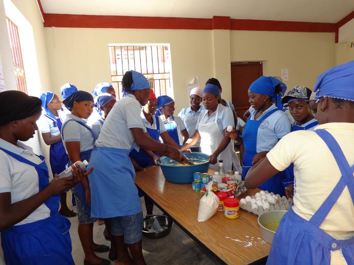Apoyo a un Centro Profesional y a un Hospital (Haití)