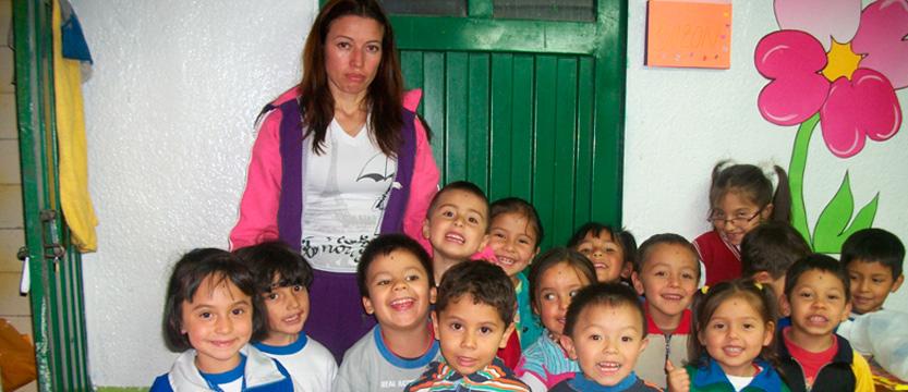 Trabajo con niños, jóvenes y familias víctimas del conflicto armado (Bogotá)