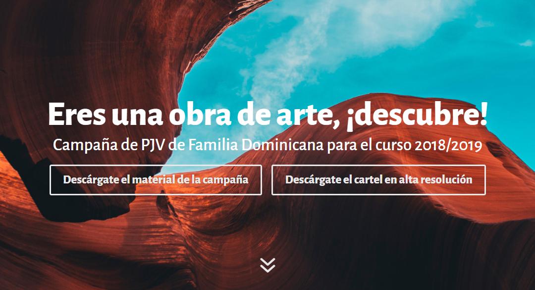 Materiales de la campaña Eres una obra de arte, ¡descubre! del curso 2017-2018
