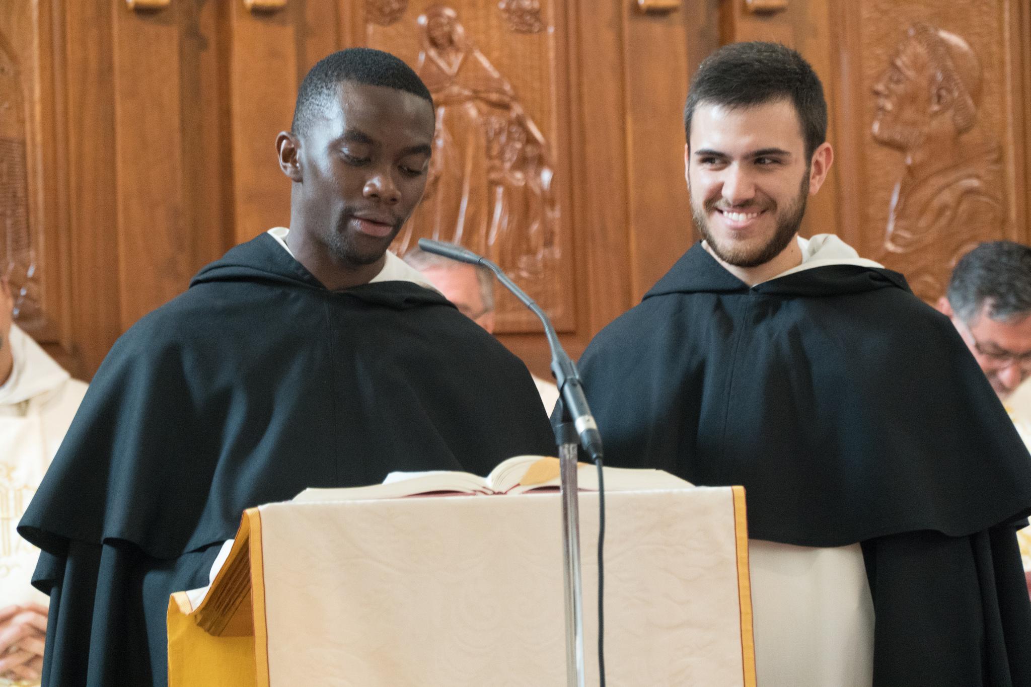 Fr. Bernando Sastre y Fr. Esteban