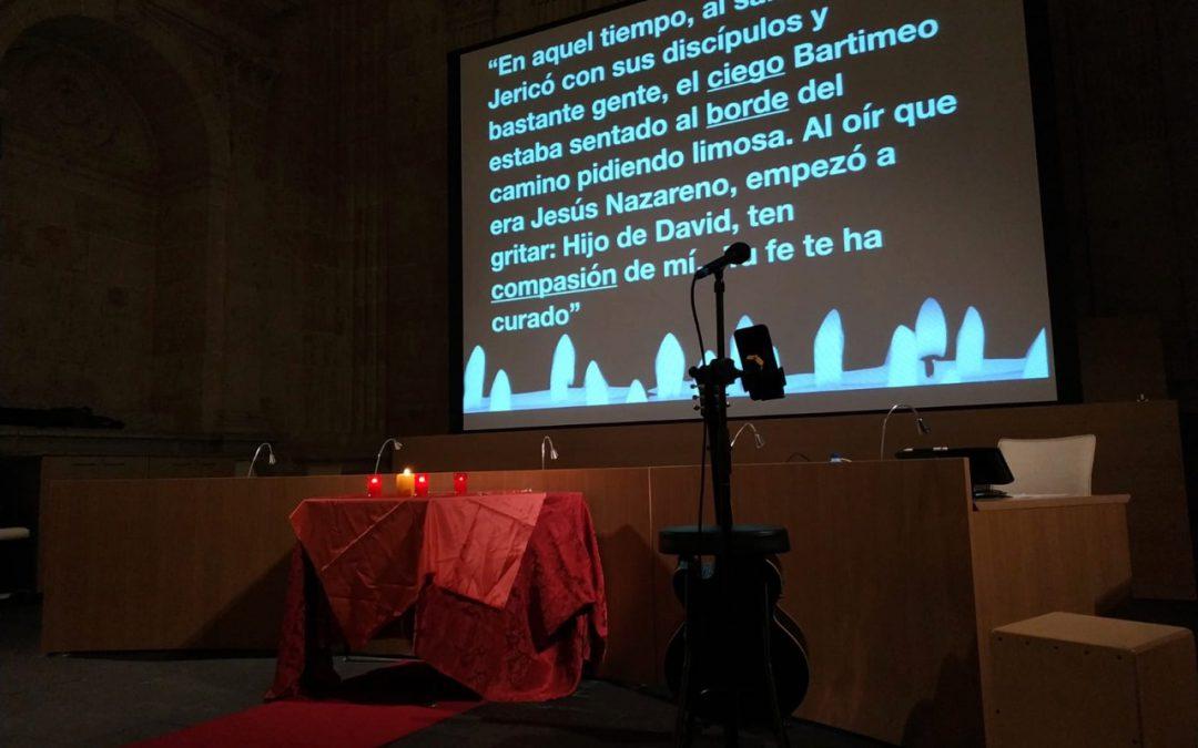 SEÑOR, QUE PUEDA VER. Oración para jóvenes en San Esteban de Salamanca