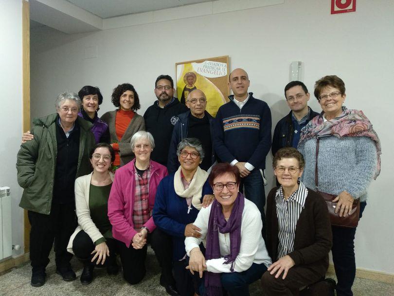 Visita del Maestro de la Orden al Observatorio de Derechos Humanos de Madrid