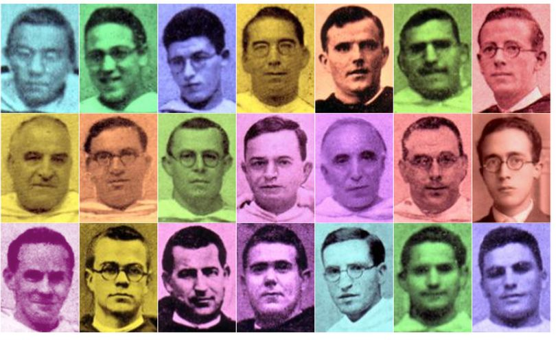 El Papa aprueba la beatificación de 27 dominicos españoles asesinados por odio a la fe durante la Guerra Civil
