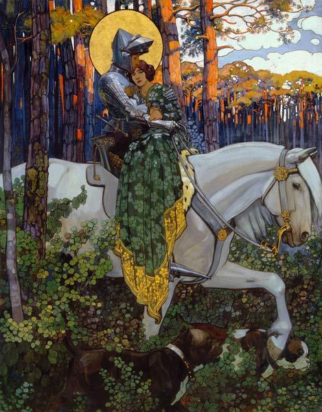 San Jorge y la caballería